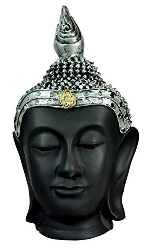 Antique Lord Buddha Head Resin Idol Statue with Zircons - 9.4 Inches Krishna Mart India http://www.amazon.com/dp/B00YXMUK6U/ref=cm_sw_r_pi_dp_pl9Evb1C6KRC7