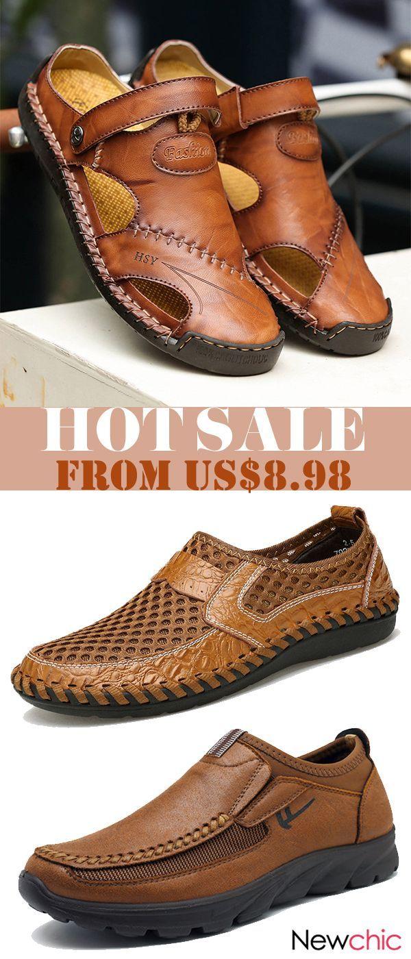 2343a9b35  Get Discount Men Soft Casual Large Size Shoes Sandals Collection.  men   shoes  menswear