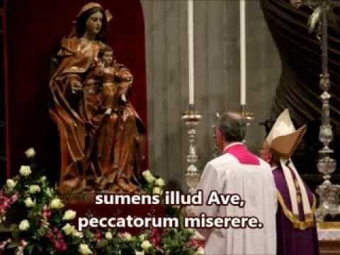 Alma Redemptoris Mater (LYRICS)