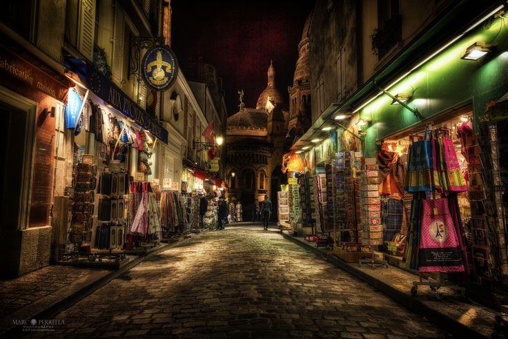 Evening in Montmartre - Marc Perrella