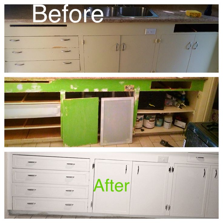 Adding flat trim to cabinet doors and drawers is the most for Add drawers to kitchen cabinets