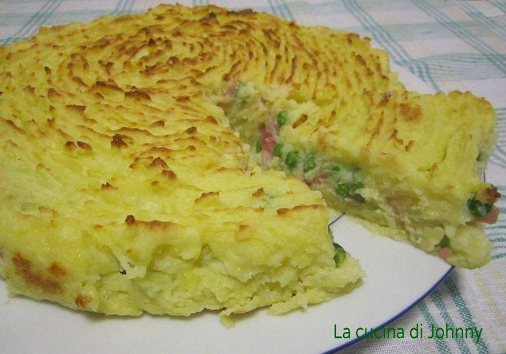 Torta ricca di patate