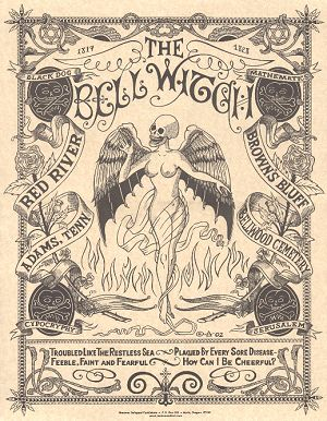 The Bell Witch  My Grandmother read me this book when I was a little boy.  Andrew Jackson believed in the Bell Witch and visited the Bell home in Northern Tennessee.