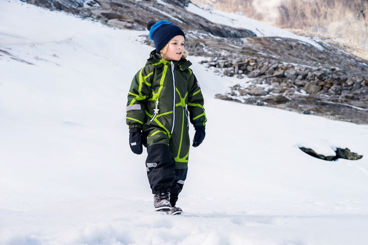 Explore the outdoors in proper winter clothing.