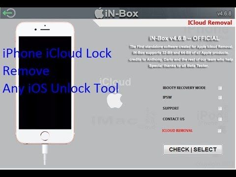 in-Box 4 8 i cloud remove 2018 100%\ unlocking icloud all iphone