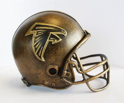 Atlanta Falcons Tim Wolfe Collection Helmet Sculpture