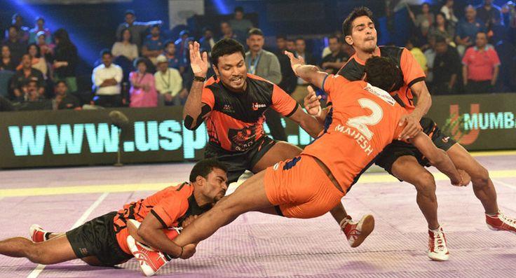 pro #kabaddi #league  #match #PuneriPaltan #DabangDelhi #TeluguTitans #abhishekbacchan
