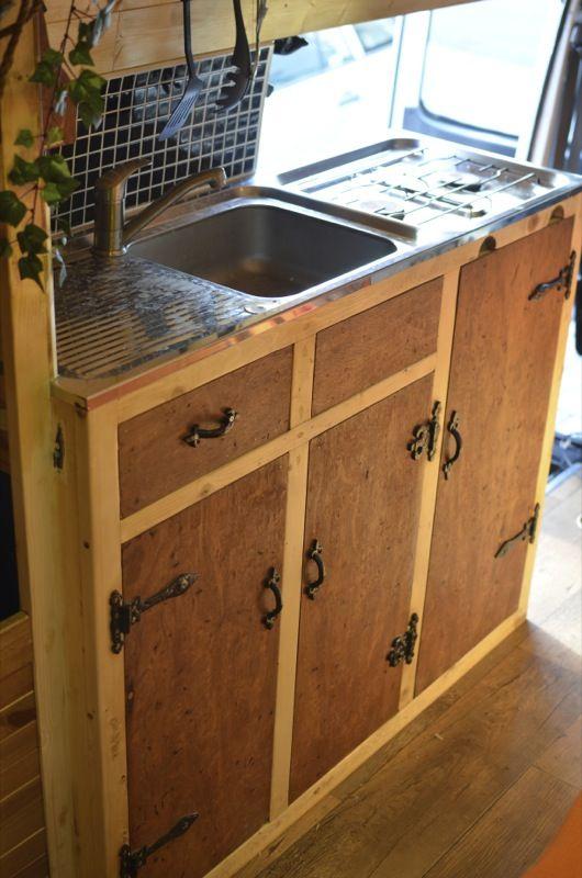 Kitchen set up - Vandog Traveller
