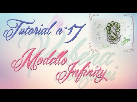 Chiacchierino ad Ago: TUTORIAL 17 – Modello Infinity - YouTube