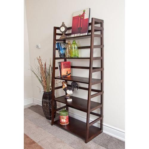 Normandy Tobacco Brown Ladder Shelf Bookcase Bookshelf Office Furniture Book - 13 Best Triangle Shelf Unit Images On Pinterest Triangle Shelf