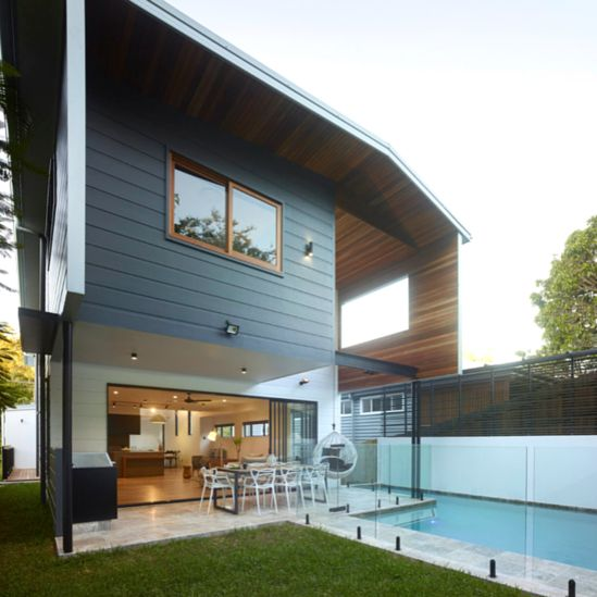 Working with angles and a mixed facade | Scyon Wall Cladding And Floors