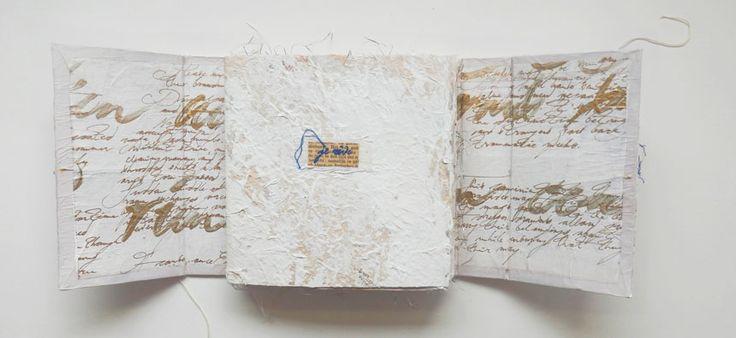 Imre van Buuren - Paperobjects. Her work is lovely! #bookart