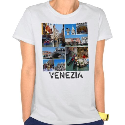 Venice collage tee shirt