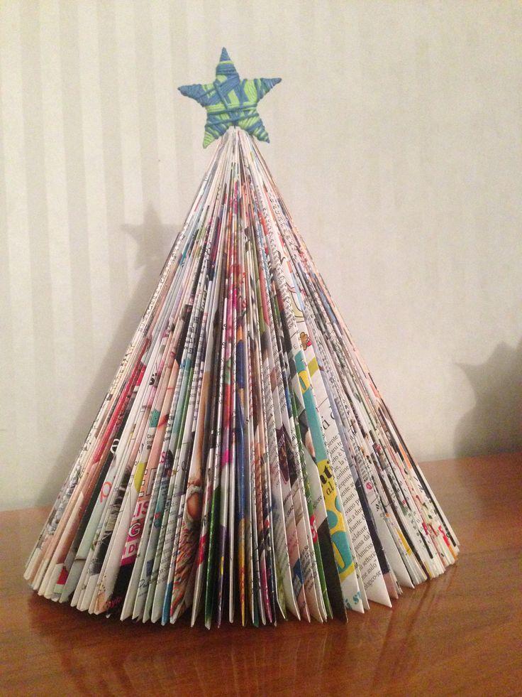 Riciclo riviste natalizio