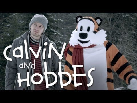Very cool :) Calvin and Hobbes: The Movie (Trailer)