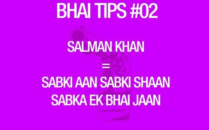 BHAI Tips
