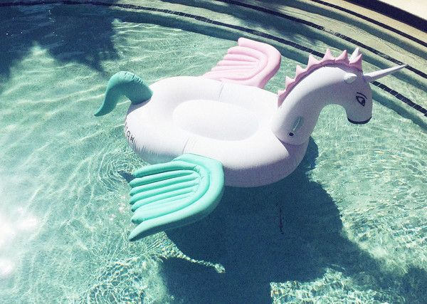 Fetch Mermaid Unicorn Luxury Pool Float Inflatable