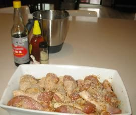 Recipe Honey Soy Chicken Drumsticks by sarahh - Recipe of category Main dishes - meat