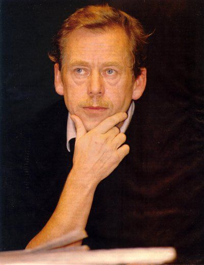 Václav Havel (5 October 1936 – 18 December 2011) was a Czech playwright, essayist, poet, dissidentand politician. He was the ninth and last president of Czechoslovakia and the first president of the Czech Republic . He wrote more than 20 plays and numerous non-fiction works, translated internationally. He was one of the signatories of the Charter 77 manifesto, a founding signatory.