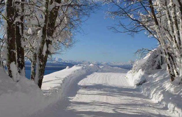 Bariloche amaneció de blanco y hay alerta en la Patagonia