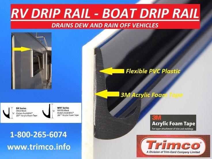 Trimco Rv Drip Rail Boat Drip Rail Is Made With Flexible