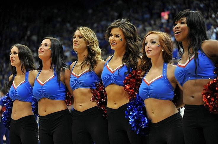 2013 photo gallery of hot Kansas Jayhawks cheerleaders ...