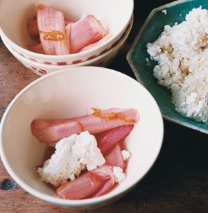 Stewed Rhubarb Recipe - Saveur.com  Reminds me of my childhood!