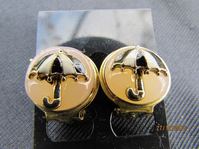 il gioiello pazzo: MOLTO carini questi orecchini fatti a mano a clip ...
