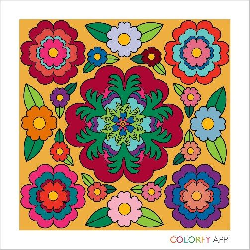 Coloring App For Adults And Children