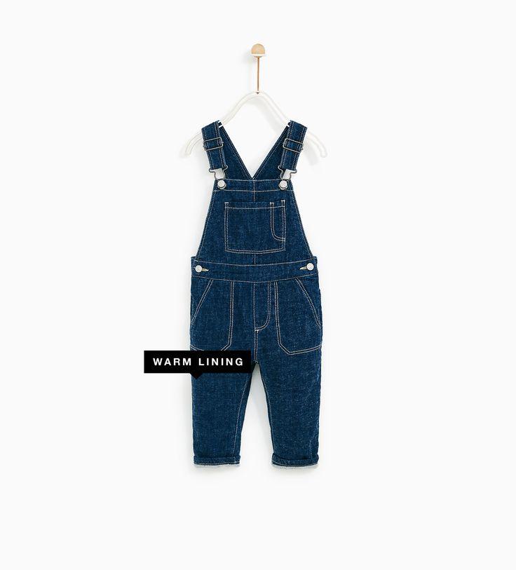Jardineiras ganga (azul): ZARA KIDS 3-4 (19,95€)