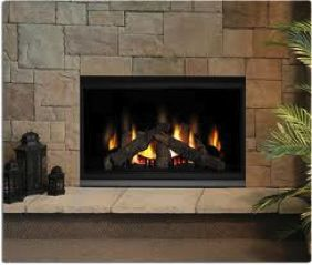zero clearance wood burning fireplace napoleon bgd42cf clean face
