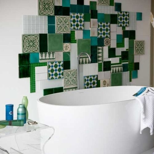 tiles... Not just in the bathroom maybe kitchen or hallway?