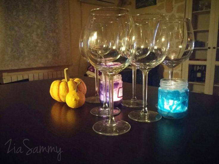 New Ikea wine glasses  #goodwineneedsgoodglass #drinkwinenotwater #merlot #glasses #romanticevening
