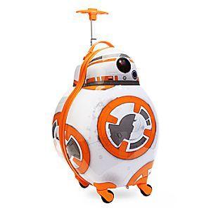 Disney Valise à roulettes BB-8 de Star Wars : Le Réveil de la Force | Disney StoreValise � roulettes BB-8 de Star Wars : Le R�veil de la Force - Les aventuriers intergalactiques peuvent emmener BB-8 avec eux dans tous leurs voyages! Cette valise � roulettes ressemble au dro�de de Star Wars et poss�de une poign�e de transport ainsi qu'une poign�e r�tractable et des roulettes.
