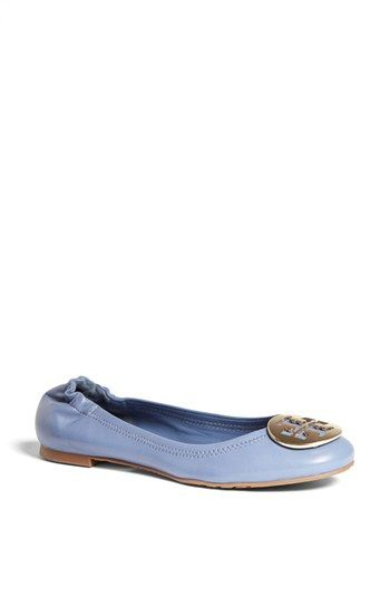 Tory Burch 'Reva' Flat | Carolina Blue