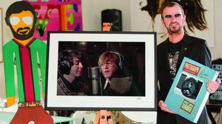 Ringo Starr: el fotógrafo oficial de los primeros Beatles!