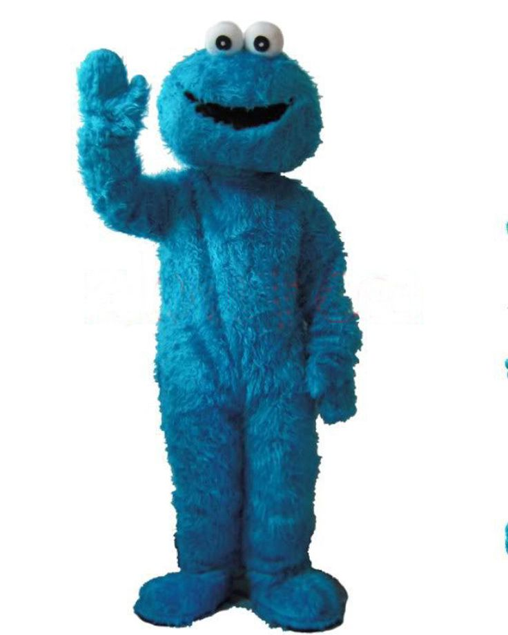 ==> [Free Shipping] Buy Best New Wedding Sesame Street Cookie Monster Adult Size Mascot Cosutme Suit Fancy dress Online with LOWEST Price   489901545
