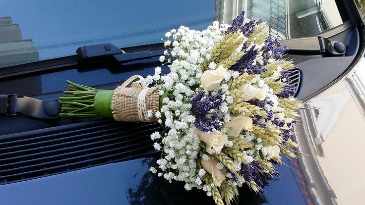 νυφικό μπουκετο από στάχυα λεβάντα γυψοφιλη και σαμπανι τριαντάφυλλα....για παραγγελίες 6976773699 ...Δεξίωση | Στολισμός Γάμου | Στολισμός Εκκλησίας | Διακόσμηση Βάπτισης | Στολισμός Βάπτισης | Γάμος σε Νησί - στην Παραλία.