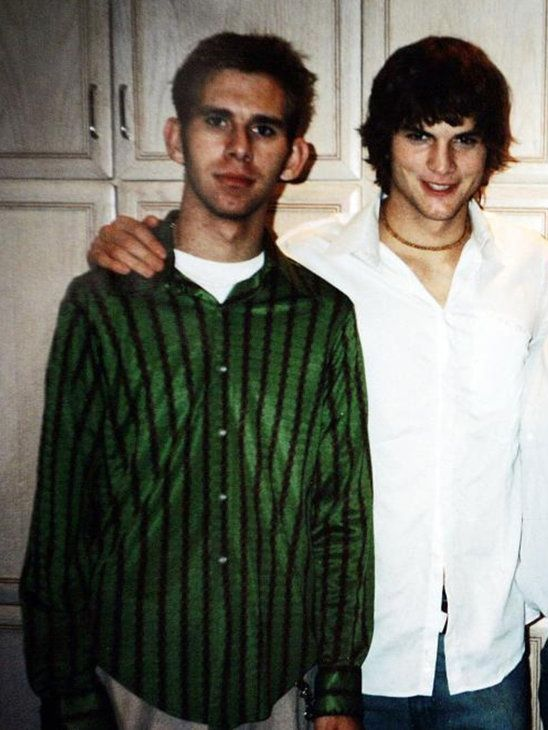 Ashton Kutcher (Actor) and twin brother Michael.