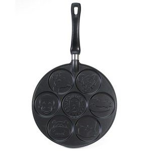 Nordic Ware International Specialties Aluminum Zoo Friends Pancake Pan