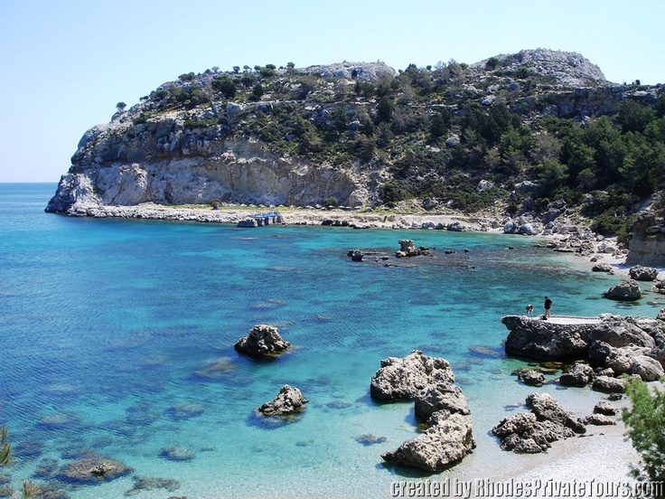 Anthony Quinn Bay - The East Coast Rhodes Island Greece