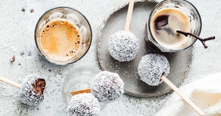 Roll two Aussie favourites into one sweet treat with these Tim Tam lamington balls.