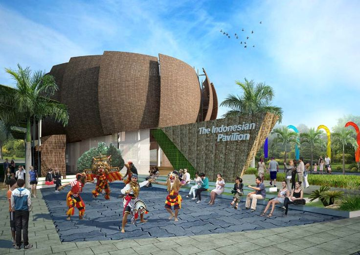 #Indonesia Pavilion #Expo2015 #Expo2015 #Milan #WorldsFair