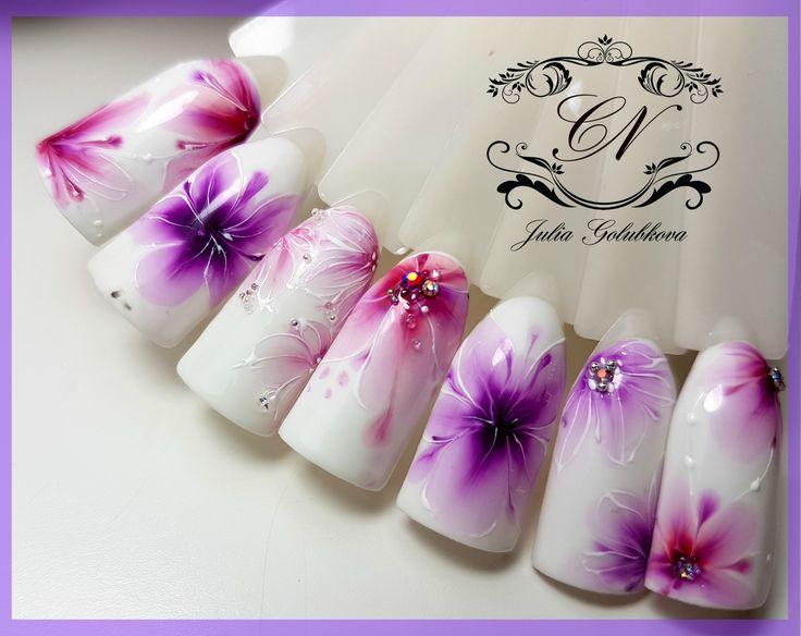 ♥Дизайны за 30 секунд♥ Волшебные гель лаки♥