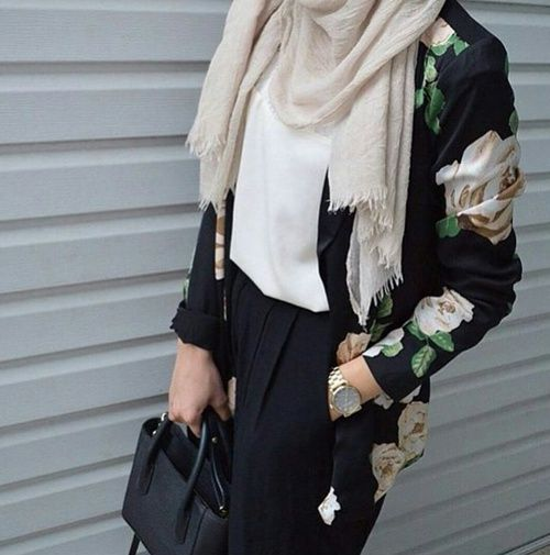 fashion, hijab, and modest image                                                                                                                                                                                 More