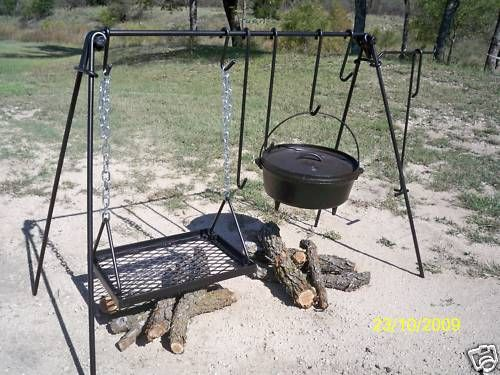 Dutch Oven Cooking Sets & every other type of exotic grill made!