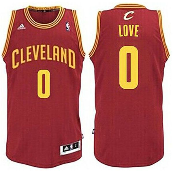 8a7485206 ... Kevin Love Youth Cleveland Cavaliers Road Red Revolution 30 Swingman  Jersey