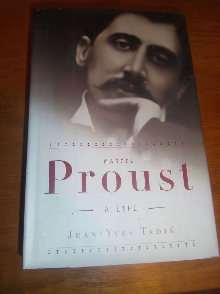 Marcel Proust : A Life by Jean-Yves Tadie 2000 HCDJ 1ST American ED. Full # Line
