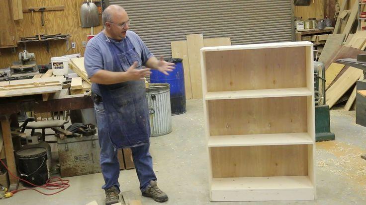 Beginning Woodworking: Building a Simple Bookcase | Bookshelf | Pinterest |  Woodworking, Closet shelves and Carpentry - Beginning Woodworking: Building A Simple Bookcase Bookshelf