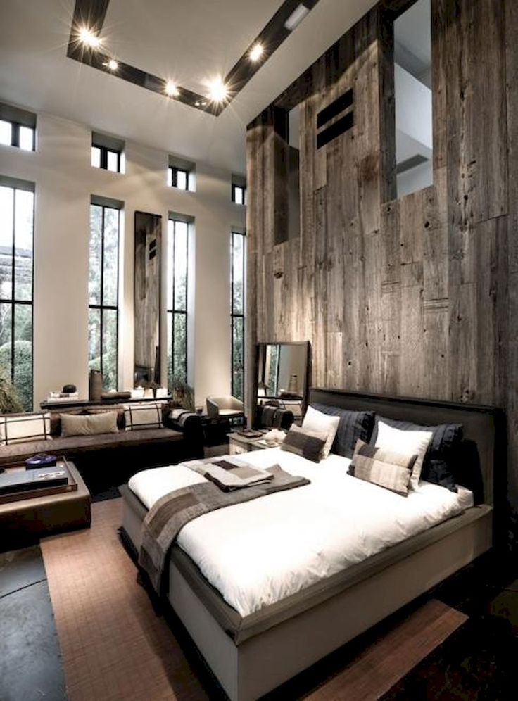 Best 25 modern rustic bedrooms ideas on pinterest - How to decorate a modern bedroom ...